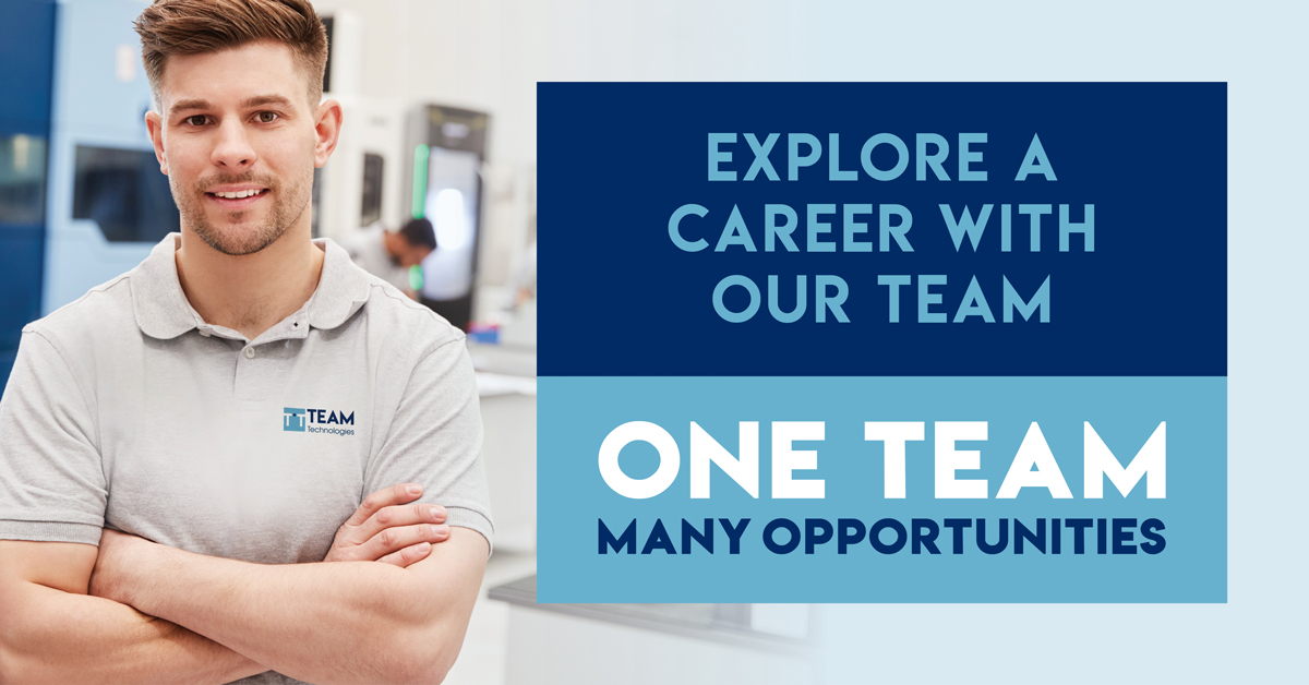 TEAM Technologies has a number of open career opportunities in medical and dental manufacturing for talented individuals.