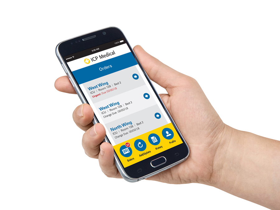 The ICP Medical Curtain Change Management System (CCMS) App allows facilities to better manage infection control processes and provide real-time compliance documentation.